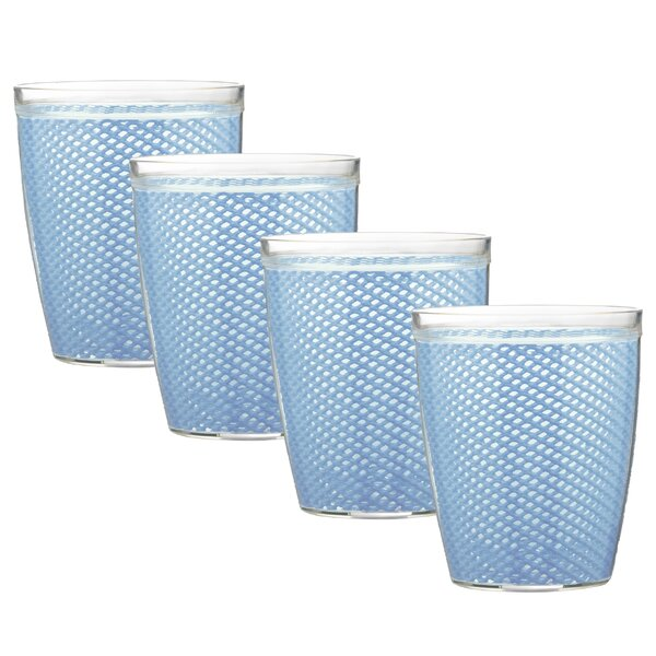 Adelyte 4 Piece 14 oz. Plastic Every Day Glass Set by Highland Dunes