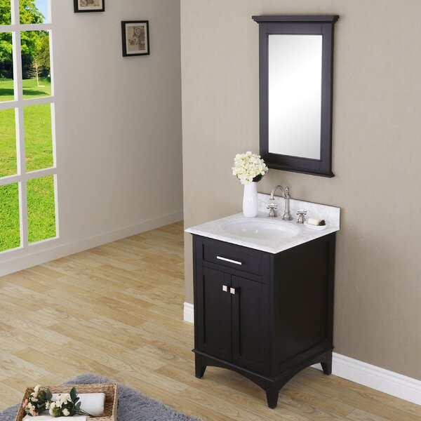 Paton 24 Single Bathroom Vanity Set with Mirror by dCOR design