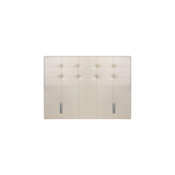 Lubin Queen Upholstered Panel Headboard by Orren Ellis
