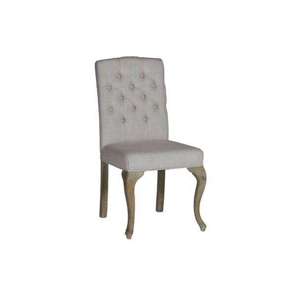 Avignon Stacking Dining Upholstered Dining Chair (Set of 2) by Gabby