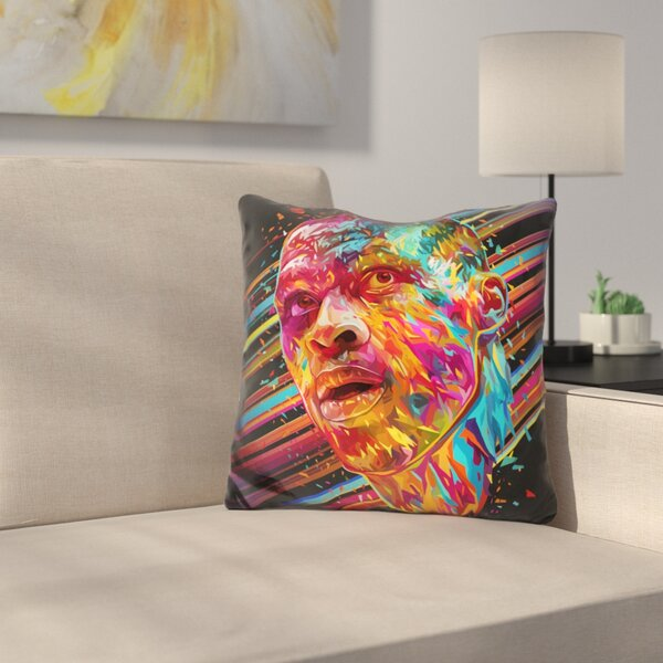 Russell Westbrook Throw Pillow by East Urban Home