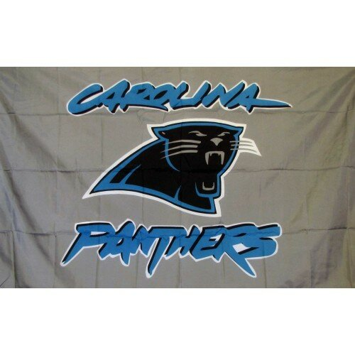 Carolina Panthers Polyester 3 x 5 ft. Flag by NeoPlex