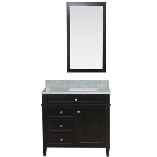 Costillo 36 Single Bathroom Vanity Set with Mirror by Red Barrel Studio