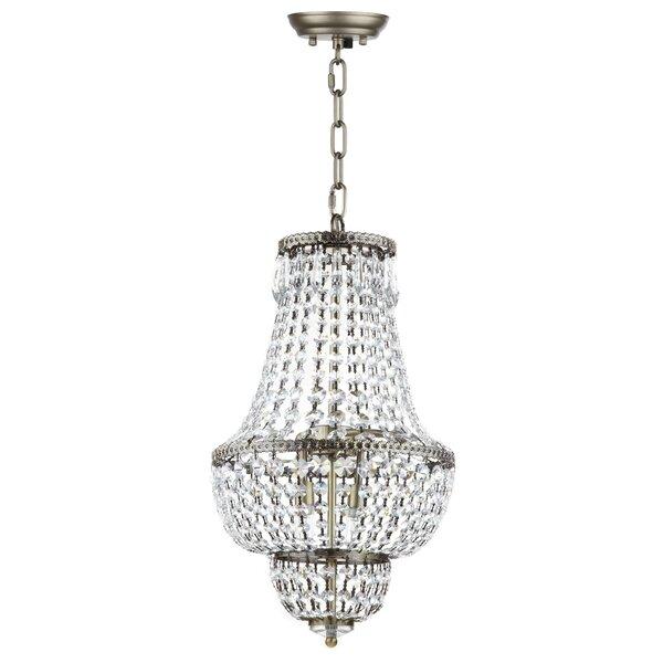 House of Hampton Rutland 4-Light Crystal Chandelier & Reviews ...