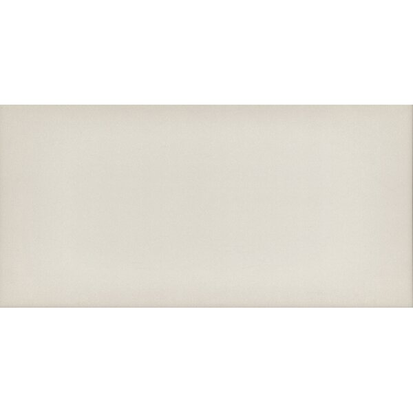 Ombre 6 x 12 Ceramic Subway Tile in Glossy Ivory by Emser Tile