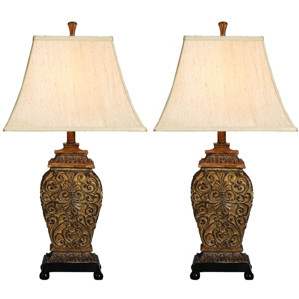 Allwood Palace of Versailles 30 Table Lamp (Set of 2) by Astoria Grand