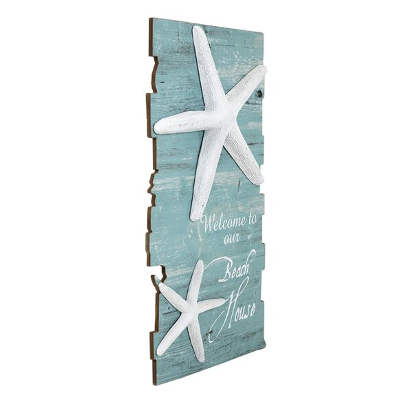 Beach House Starfish Wall Décor by Rosecliff Heights
