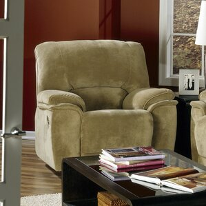 Dallin Leather Manual Rocker Recliner by Pal..