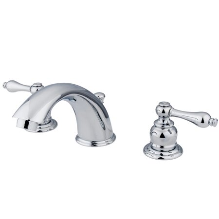 Victorian Widespread Bathroom Faucet with Drain Assembly by Kingston Brass
