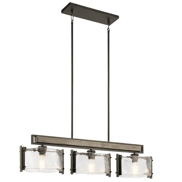 Pelle 3-Light Kitchen Island Chandelier by 17 Stories