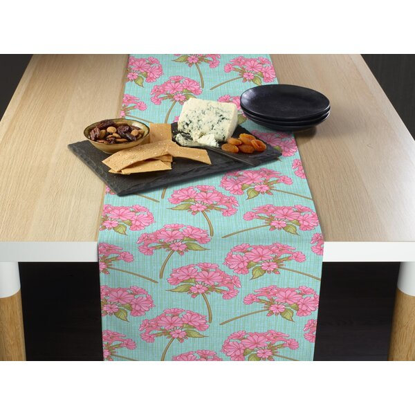 Damien Bunches of Flowers Table Runner by House of Hampton