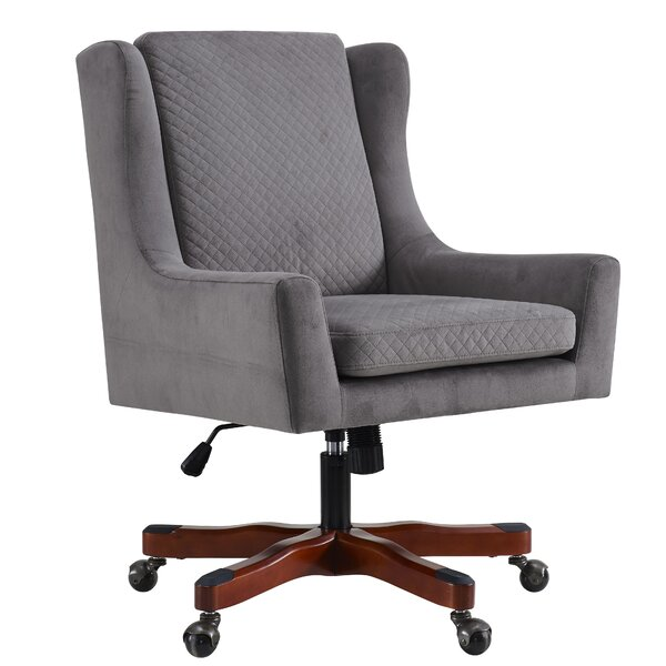 Elwyn Mid-Back Desk Chair by Alcott Hill