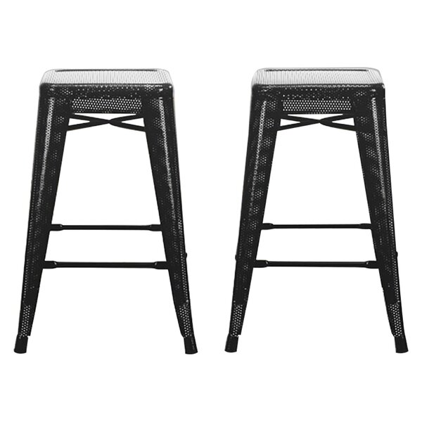 Uriarte 24 Bar Stool (Set of 2) by Mercury Row