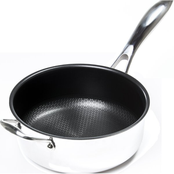 Black Cube Deep 9.5 Non-Stick Skillet by Frieling