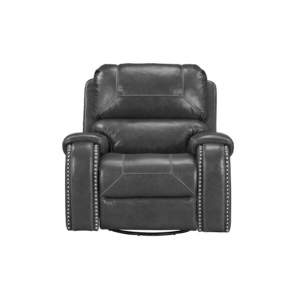 Ruggiero Faux Leather Manual Glider Recliner W003344005