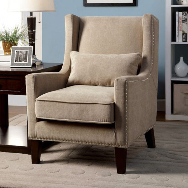Raymundo Transitional Wingback Chair by Red Barrel Studio