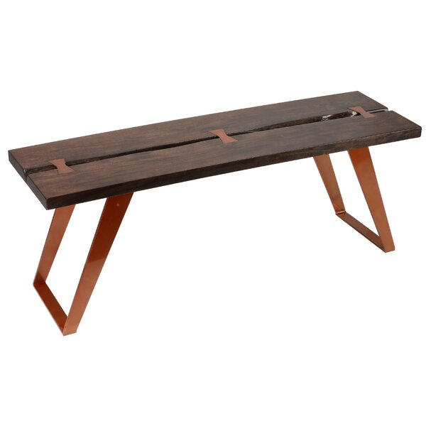 Brussels Wood Bench by Union Rustic