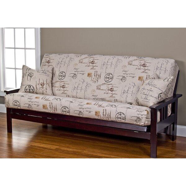 Devonshire Box Cushion Futon Slipcover by Red Barrel Studio