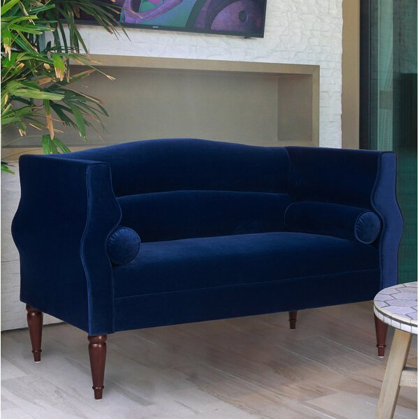 Great Sale Joanna Camelback Loveseat by Jennifer Taylor by Jennifer Taylor
