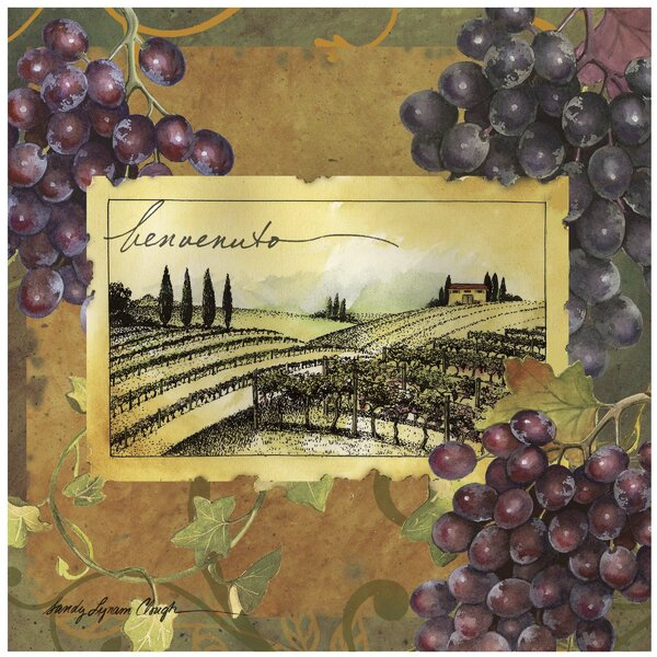 Vineyard Welcome Occasions Trivet by Thirstystone