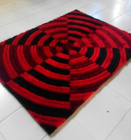 Red Area Rug by Rug Tycoon