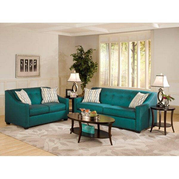 Hutter 2 Piece Living Room Set by Mercer41