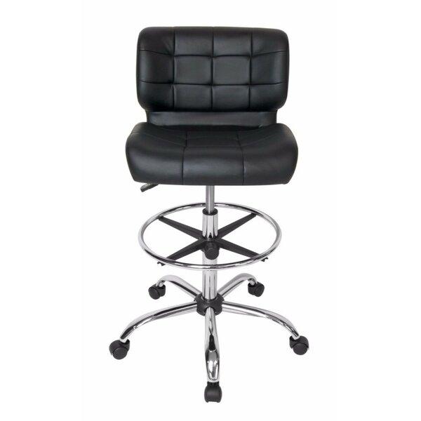 Delvecchio Drafting Chair by Orren Ellis