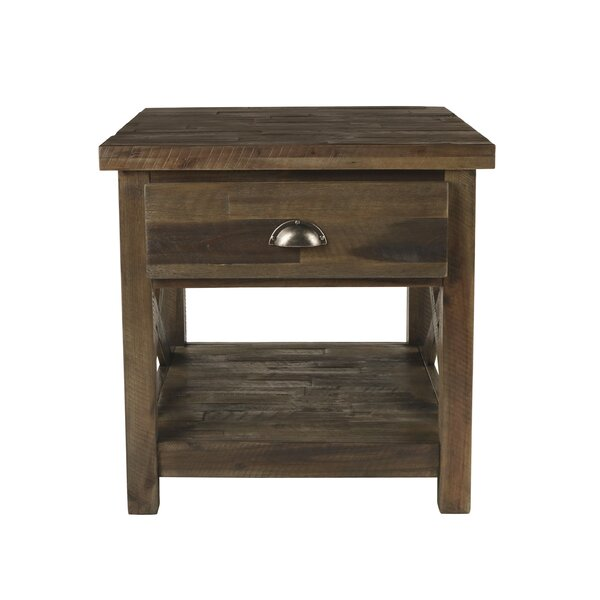 Clementina End Table by Loon Peak
