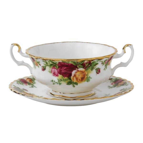 Old Country Roses 11 oz. Soup Cup by Royal Albert