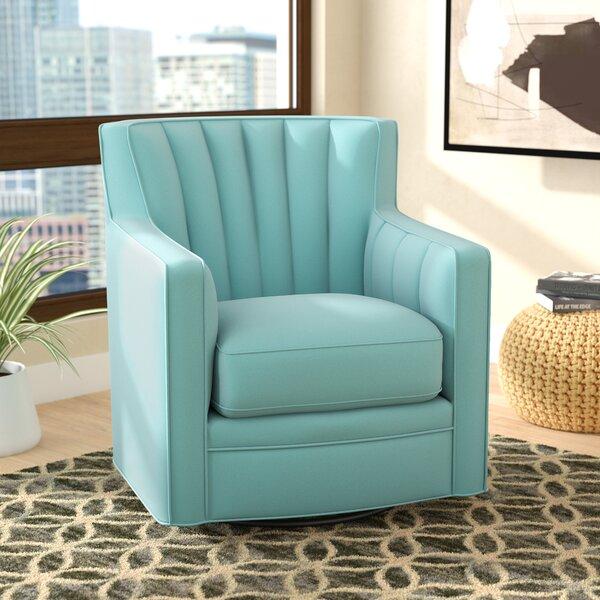 Bima Swivel Armchair by Zipcode Design