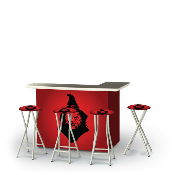Yeoman Halloween Evil Witch 5-Piece Bar Set by East Urban Home