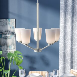 Naccarato 5-Light Shaded Chandelier by Ebern Designs