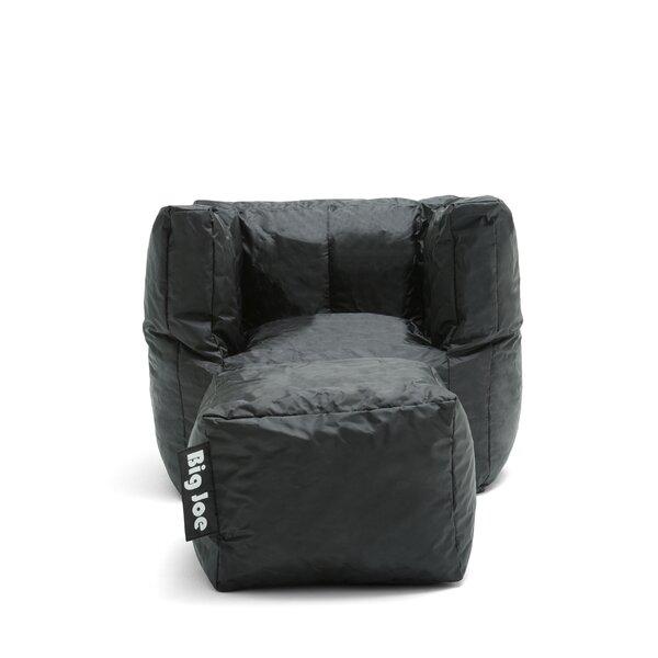 Big Joe 2 Piece SmartMax Cube Bean Bag Set by Comfort Research