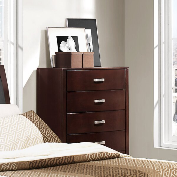 Rushmere 5 Drawer Chest by Latitude Run
