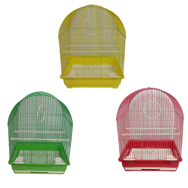 Medium Dome Top Bird Cage (Set of 6) by Iconic Pet