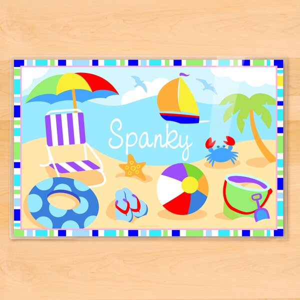 Summertime Boys Personalized Placemat by Olive Kids