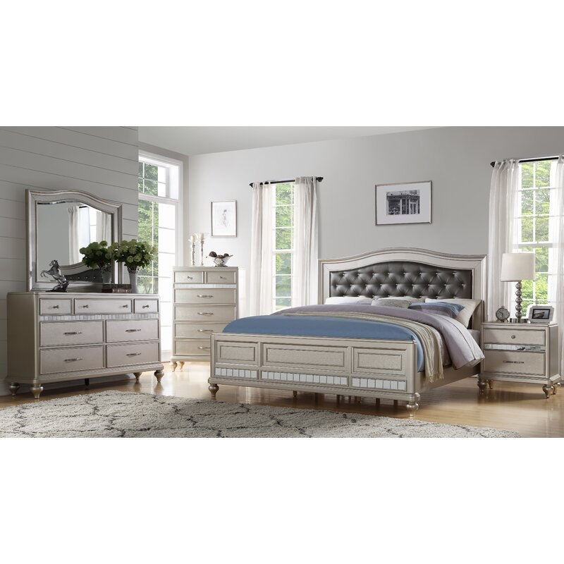 Rosdorf Park Keytesville 4 Piece Bedroom Set & Reviews | Wayfair