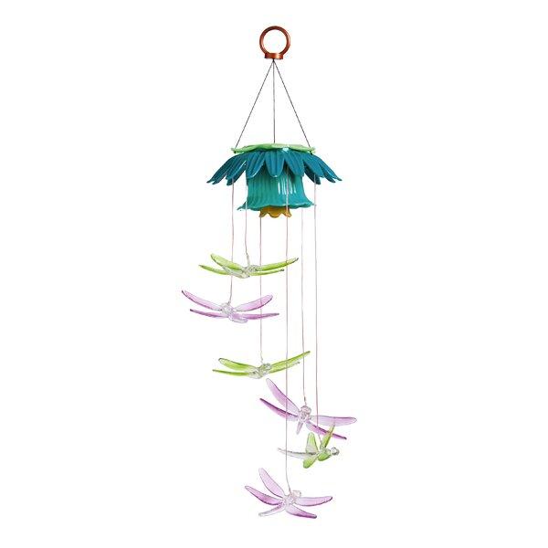 Dragonflies Color Changing Solar Mobile by Evergreen Enterprises, Inc