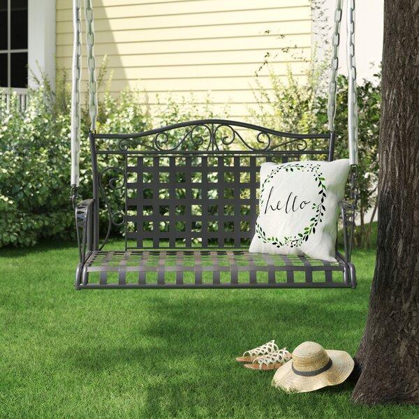 Saundra Iron Porch Swing by Fleur De Lis Living Fleur De Lis Living