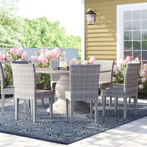 Rockport 9 Piece Dining Set by Sol 72 Outdoor