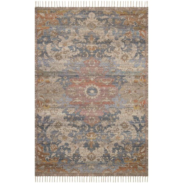 Cornelia Hand-Knotted Denim Area Rug by Loloi x Justina Blakeney