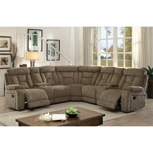 Webb Reclining Sectional Red Barrel Studio