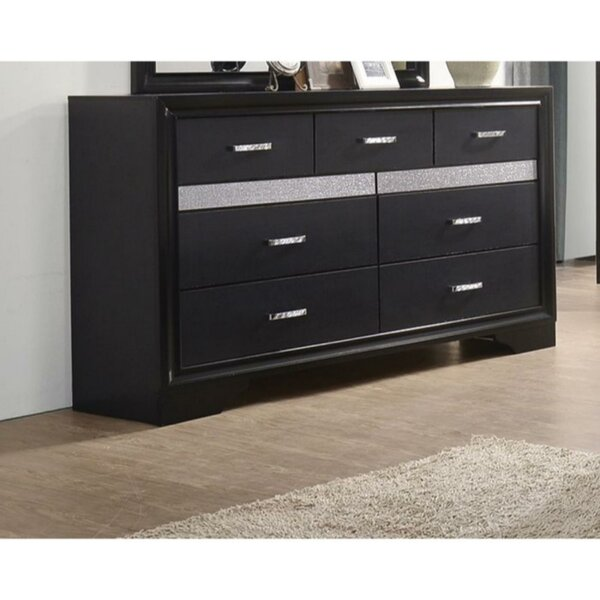 Clorinda 7 Drawers Double Dresser by Latitude Run