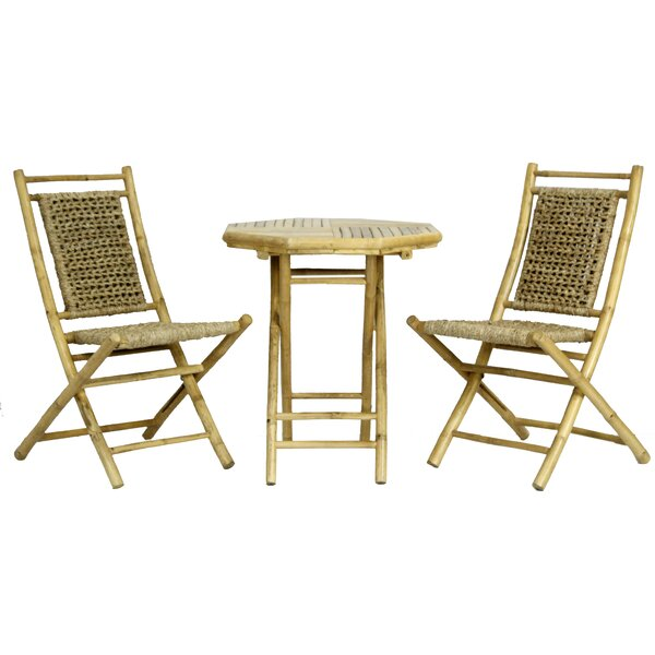 Brandenburg 3 Piece Conversation Set by Highland Dunes