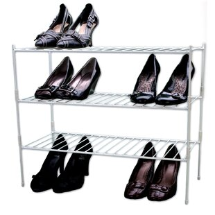 Best Choices Extra Large 3-Tier Shoe Rack By Panacea