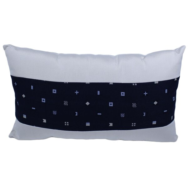 Wrenn Outdoor Lumbar Pillow by Breakwater Bay