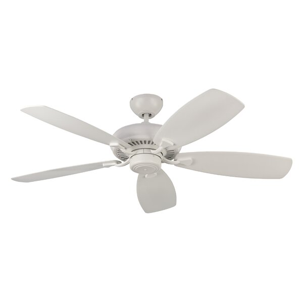 52 Tenbury 5 Blade Ceiling Fan with Remote by Charlton Home