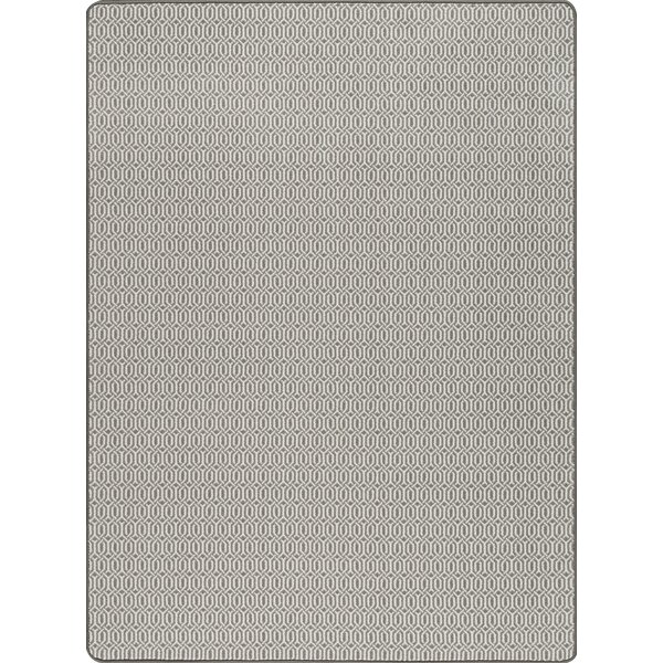 Broom Pewter Area Rug by Wrought Studio