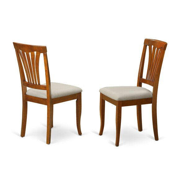 Spurling Side Chair in Microfiber (Set of 2) by August Grove