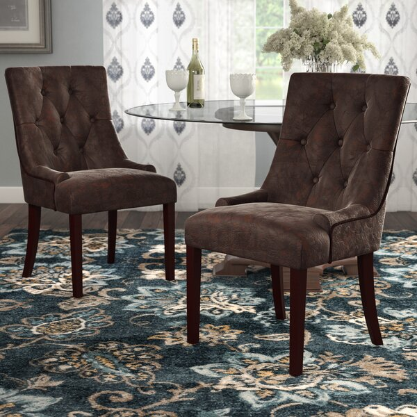 Wilkinson Upholstered Dining Chair (Set of 2) by Darby Home Co
